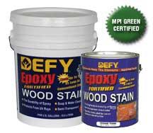 Defy Epoxy Wood Stain