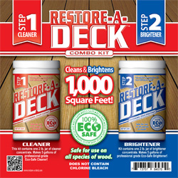 Restore-A-Deck Cleaner Kit