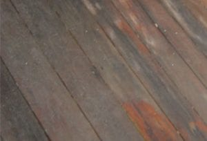Uncleaned Dirty Deck