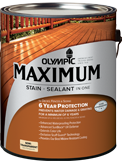 Olympic Maximum Stain + Sealant in One