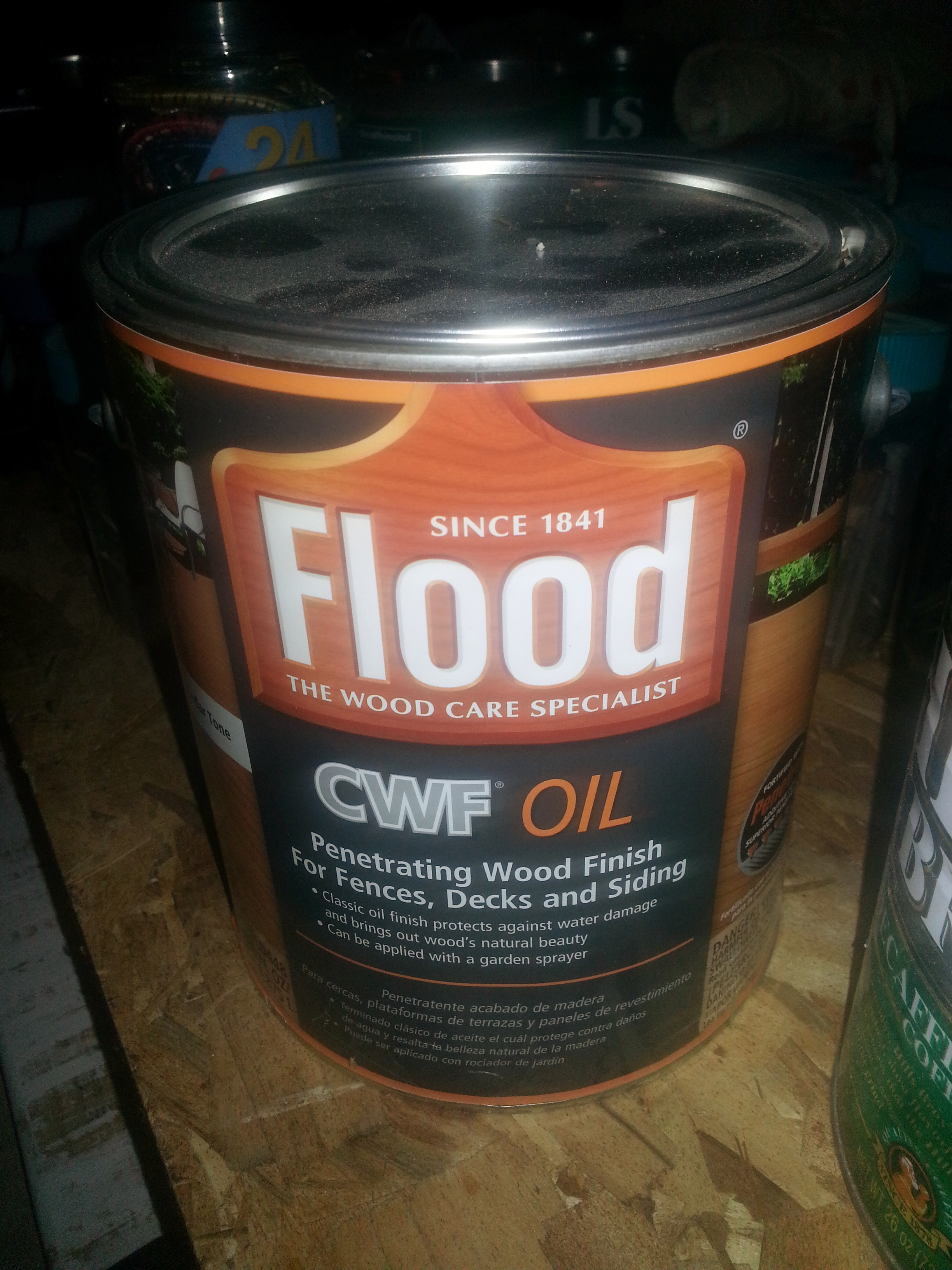 Flood Deck Stain Reviews Cwf Submited Images