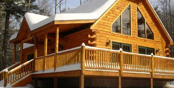 Best wood stains for a log cabin best deck stain reviews for How to stain log cabin