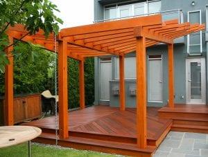 Deck Stain Pergola