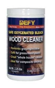 Defy Wood Deck Cleaner