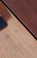 Hardwood Deck Staining